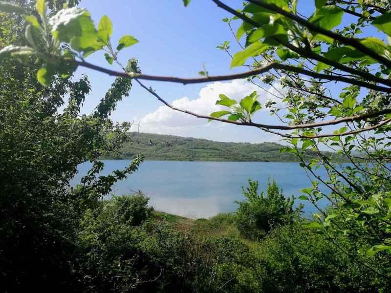 Diga oasi di Campolattaro, panorama